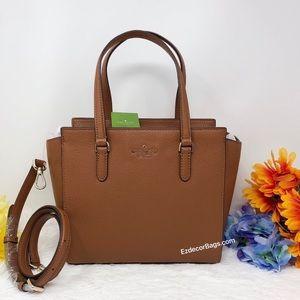 NWT Kate Spade Jackson Medium Satchel Bag